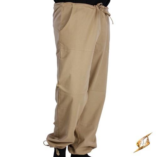Basic Pants - Beige