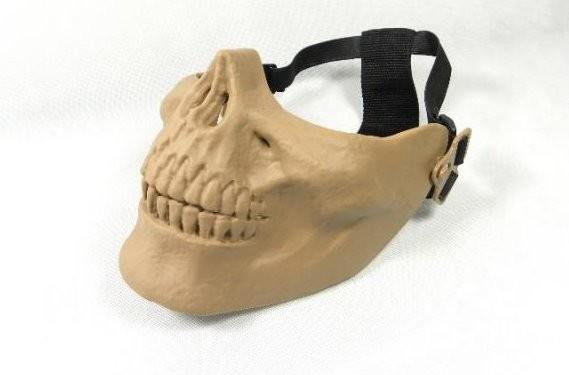 Facial Protection - Half Skull