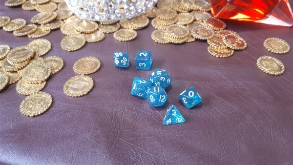 Plastic Polyhedral Dice Sets