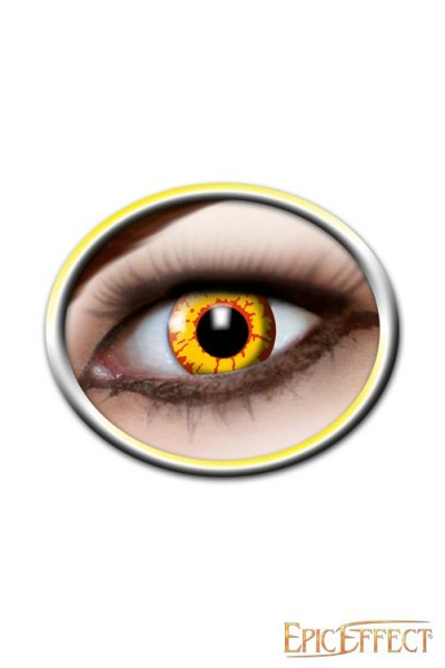 Contact Lenses - Ork (Yellow/Red)