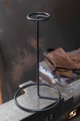 Helmet Stand Metal - Black