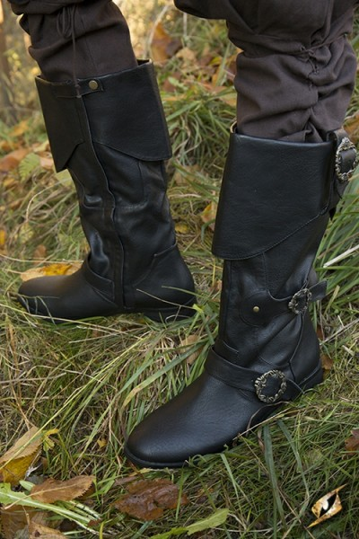 Pirate Boots - Black