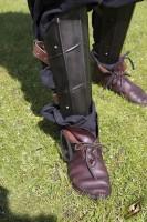 Dark Drake Leg Protection