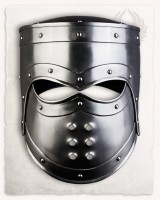 Edward helmet - Silver