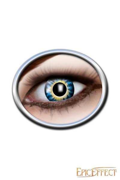 Dark Blue & Yellow Lenses (One Tone)