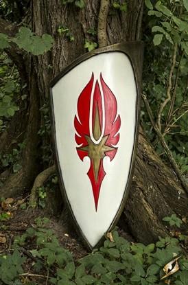 Elf Shield - Red