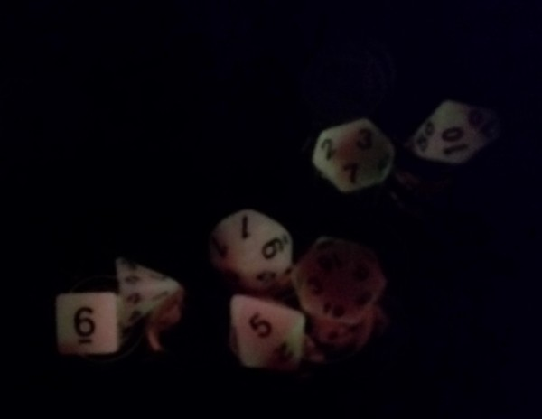 Deadly Glowing Dice